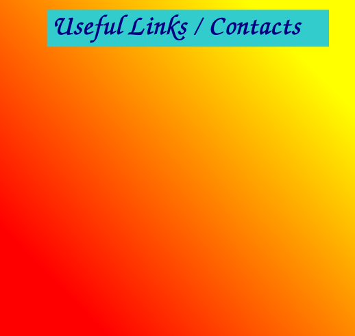 Useful Links / Contacts